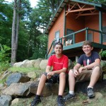 Guest Cabin on Lake George