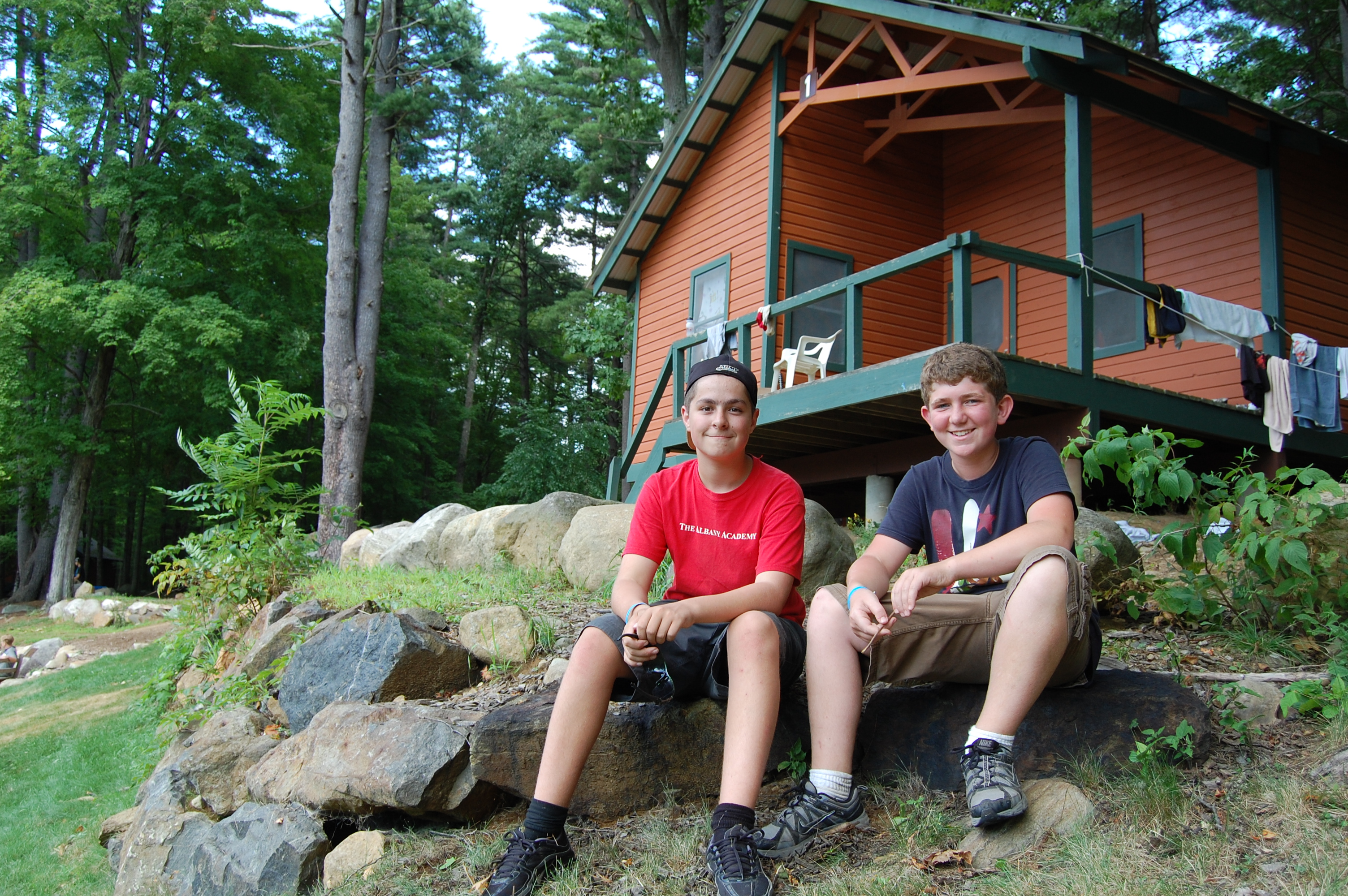 cabins guest cabin adirondack lake training about institute on in george us
